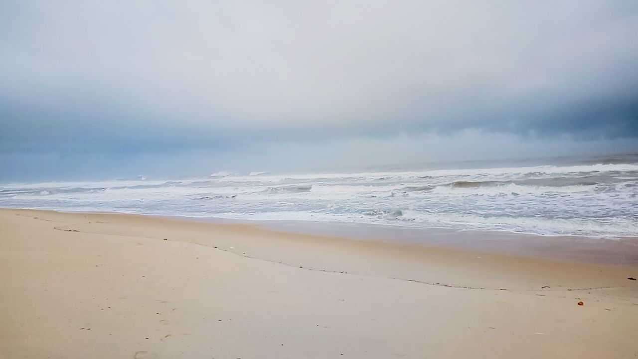 beach, sea, sand, nature, beauty in nature, shore, sky, tranquility, scenics, wave, tranquil scene, horizon over water, water, no people, outdoors, day