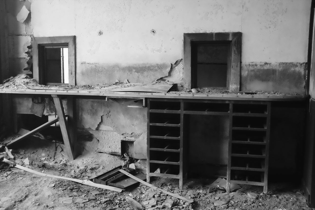 Abandoned Abandoned & Derelict Abandoned Buildings Architecture Bad Condition Beauty Of Decay Beautyofdecay Blackandwhite Building Exterior Built Structure Damaged Day Destruction Deterioration Discarded Indoors  No People Obsolete Ruined Worn Out