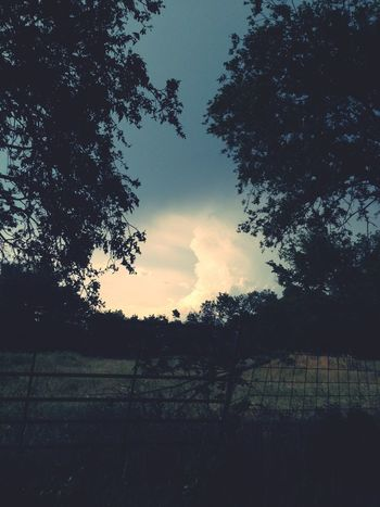 Country life. Storm clouds settling in. #FrameIt Frame It!
