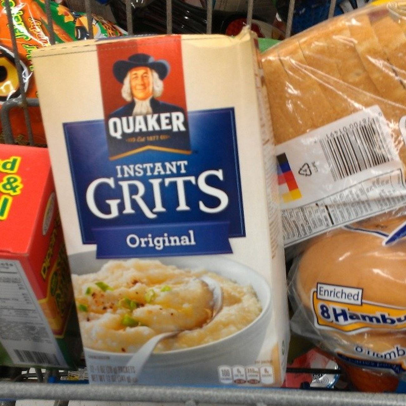 I was born in Georgia....so life would suck without grits Breakfast Fire Quakerman