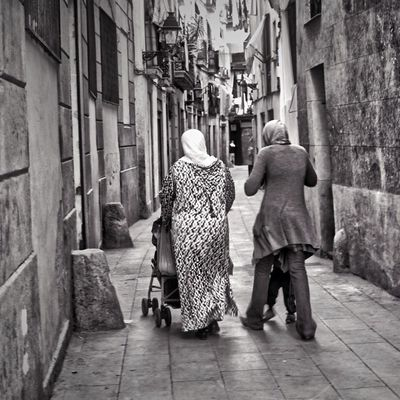 blackandwhite in Barcelona by Mercè Pau