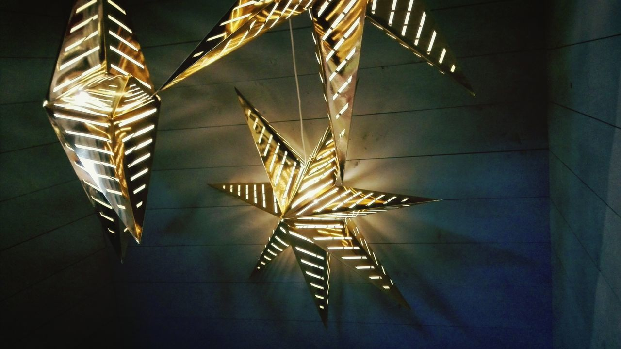 Beautiful stock photos of stars, Decoration, Hanging, Haren, Illuminated