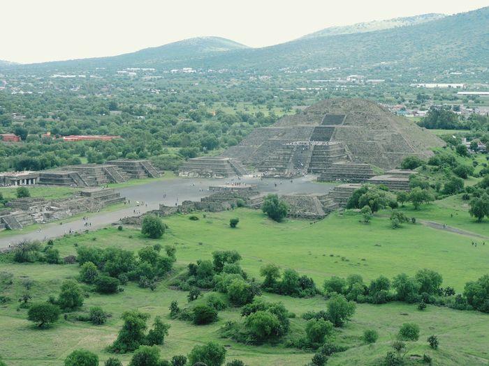 Piramide de la Luna Teotihuacan Piramide Mexico