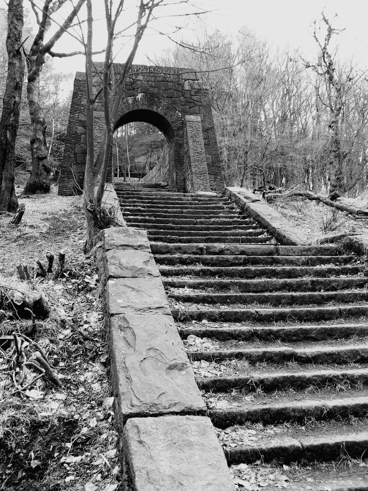 Stone Steps Arch China Garden Rivington Bolton