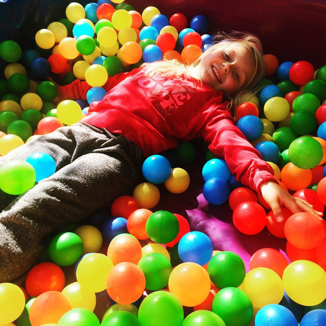 Playing Playtime! Party Time Ball Pit! Fun Hanging Out