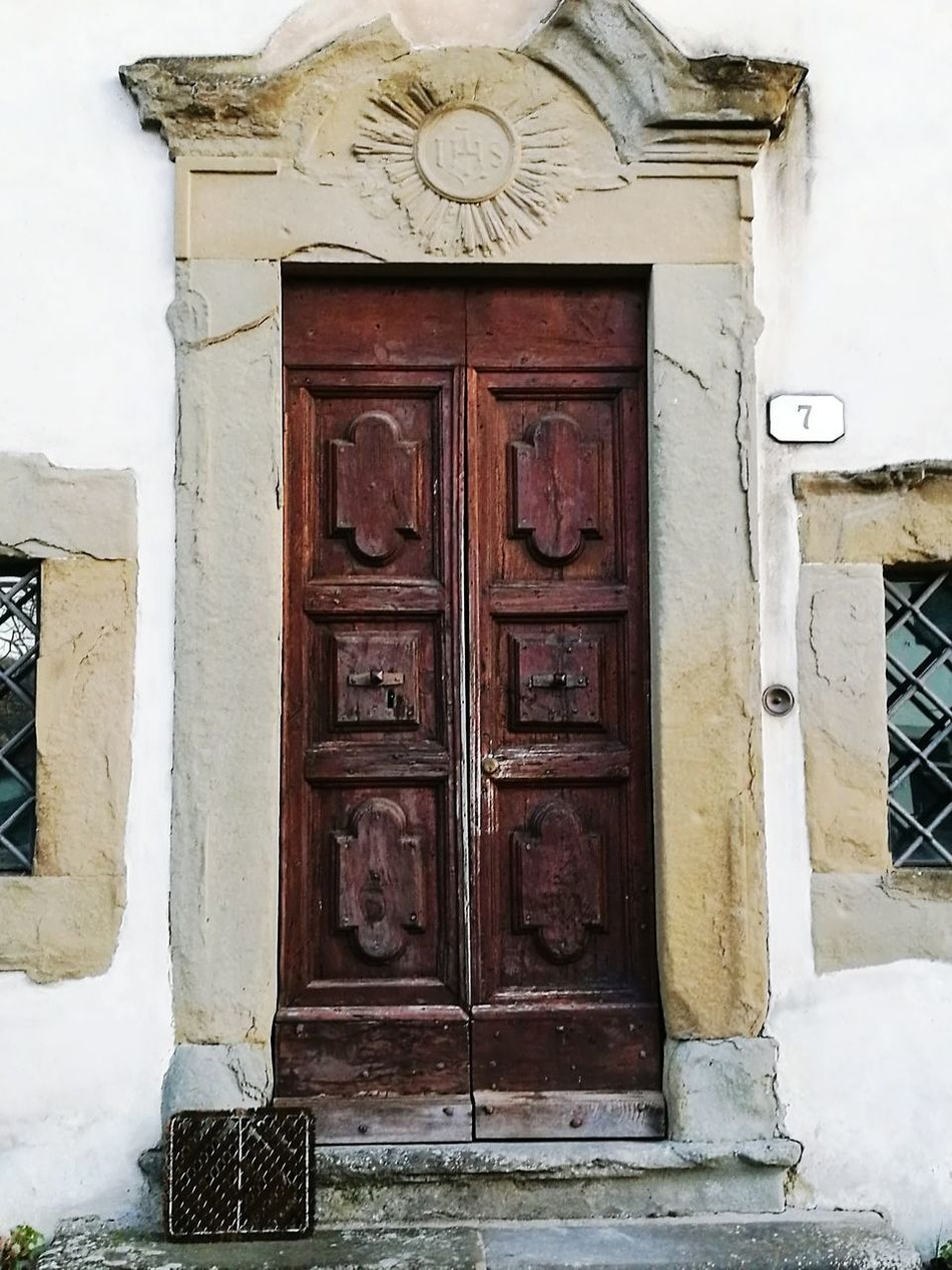 Door Closed Building Exterior Built Structure Architecture Entrance No People Outdoors House Day