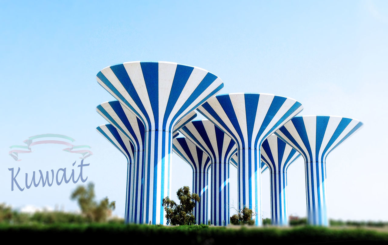 2017 Architecture Clear Sky Day Hala February Kuwait Kuwait City Low Angle View No People Outdoors Sky