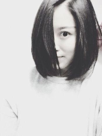 因为女神,分分钟把头发剪了