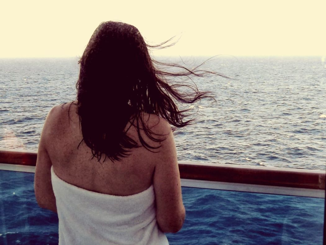 Holiday POV on the balcony of the infamous Italian cruise ship Costa Concordia just weeks before the disaster. Cruise Ship Costa Concordia Beautiful MY BEAUTIFUL WIFE ❤ Hello World Holiday Vacation EyeEm Best Shots The Best From Holiday POV On A Boat
