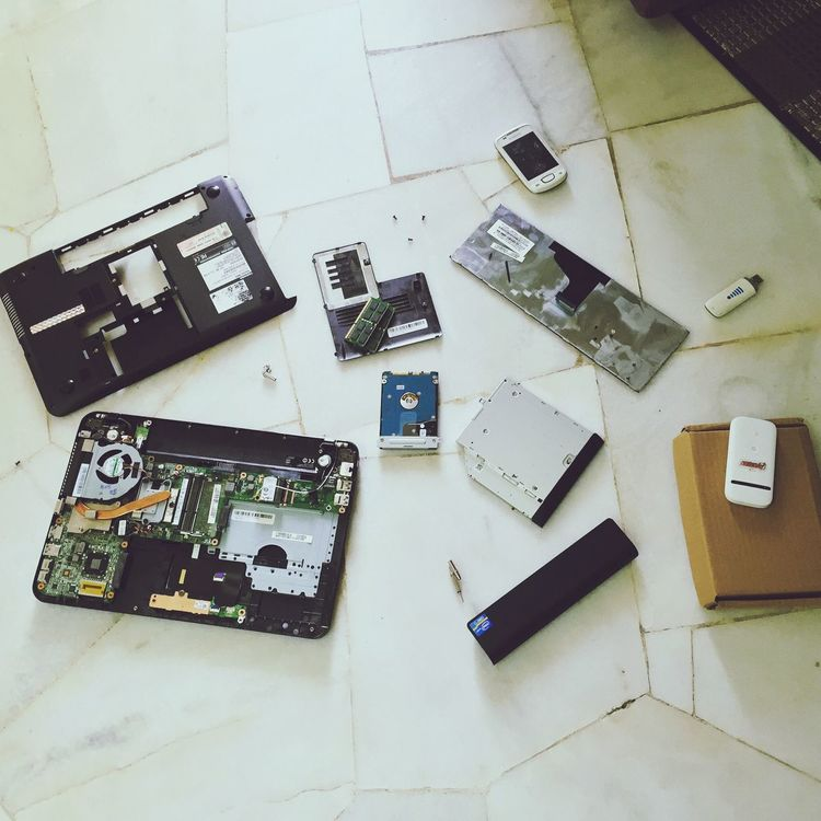Internet Addiction if you don't expect Too Much the Technology of any High Angle View Laptop Motherboard Hardisk Handphone Wifi then it came in single Photographic Memory First Eyeem Photo