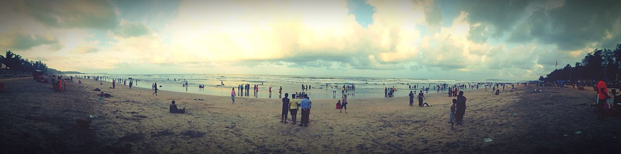 Goa End To End Beach Sunset End Of The Day Evening Great Atmosphere Great Place Visit Again