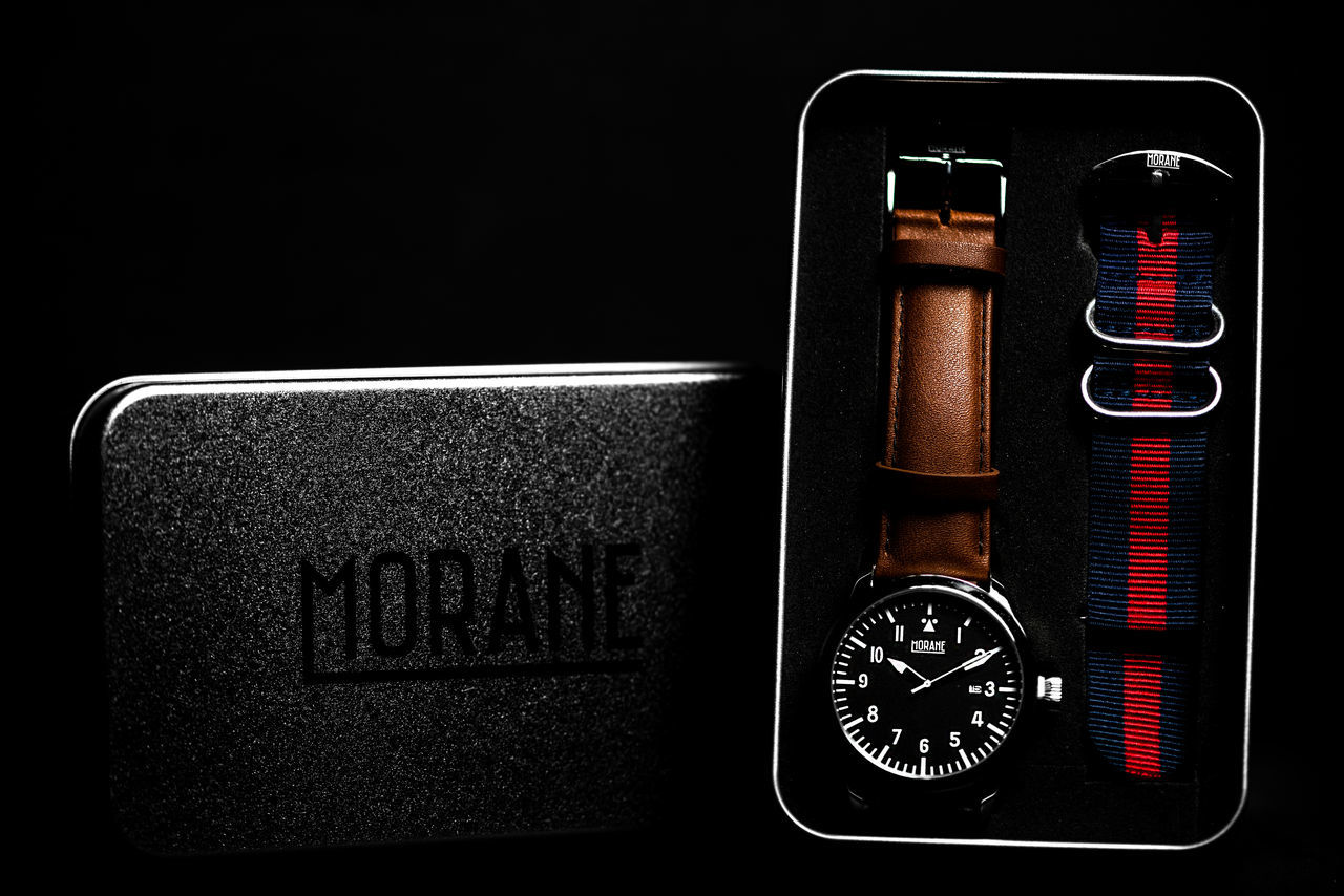 Commercial photo of watch. Close-up Commercial Commercial Photography Communication Contrast Convenience Dark EyeEm Best Shots Man Made Object Morane406 Moräne Niklasskur No People Number Popular Photos Time Time Ticking Away Time To Reflect Watch Watch The Clock Western Script