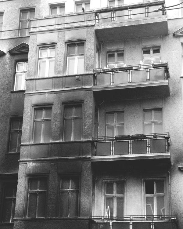 Burned Out Burned House Friedrichshain Warschauer Straße Shades Of Grey