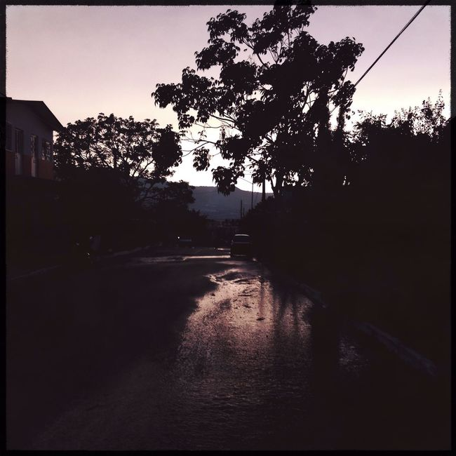 Entre la lluvia & el atardecer Streetphotography Urban@ndante IPhoneography Hipstamatic