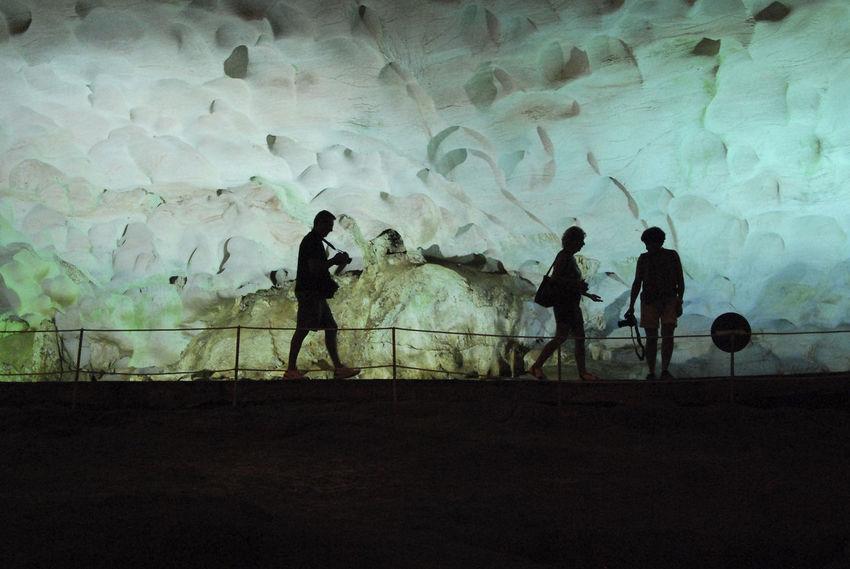 Alien Cave Full Length Ha Long Bay Halong Bay  Halong Bay Vietnam Halongbay Leisure Activity Martian  Person Side View Silhouette Silhouettes Vietnam Vietnamese