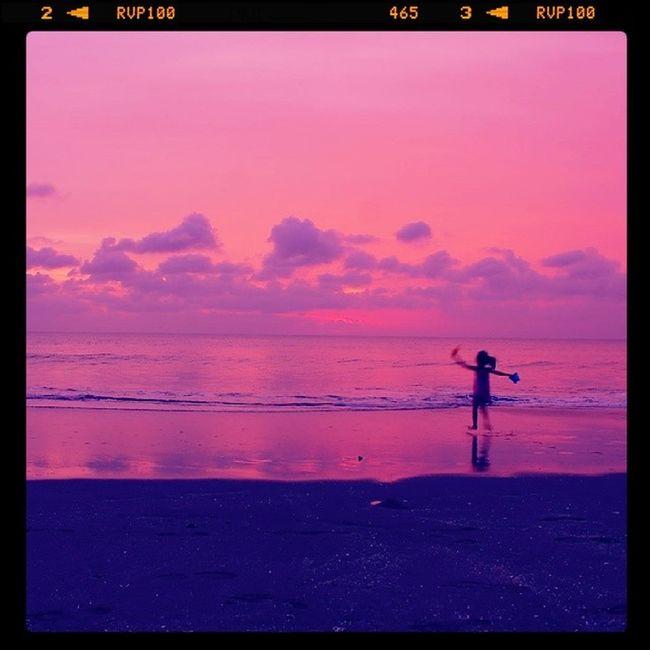 The last summer Sunset Summer Land Instabanjar Beach
