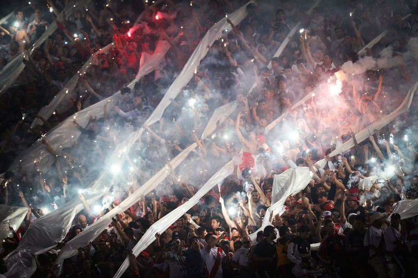 FOOTBALL SUPPORTERS CLUB RIVER PLATE ENCOURAGE YOUR COMPUTER FROM THE STANDS Argentina Buenos Aires Celebration Futbol Hands Large Group Of People Real People River Plate Soccer Supporters Football Fever Market Bestsellers July 2016 Bestsellers