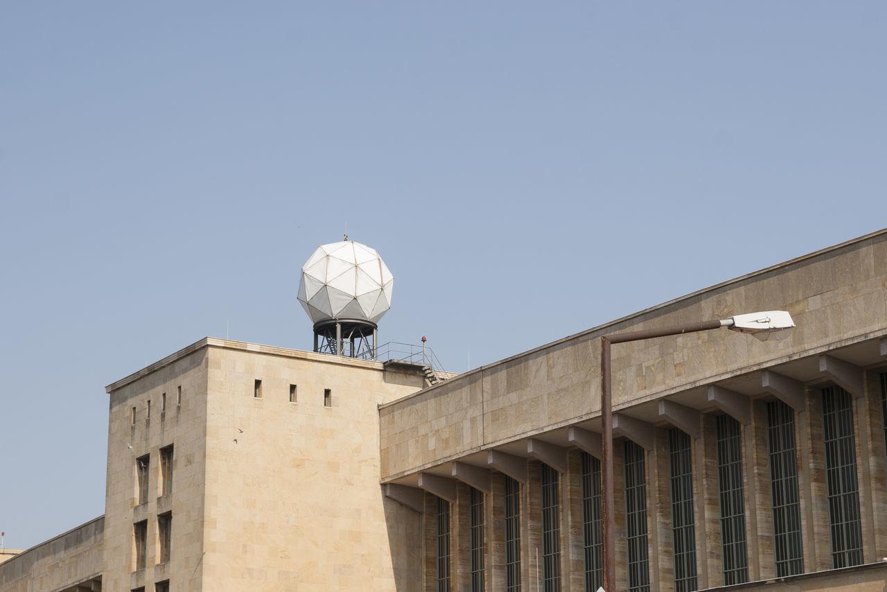 Antenna - Aerial Architecture Berlin Building Day Europe Germany No People Outdoors Radar Sky Tempelhof Tempelhofer Feld