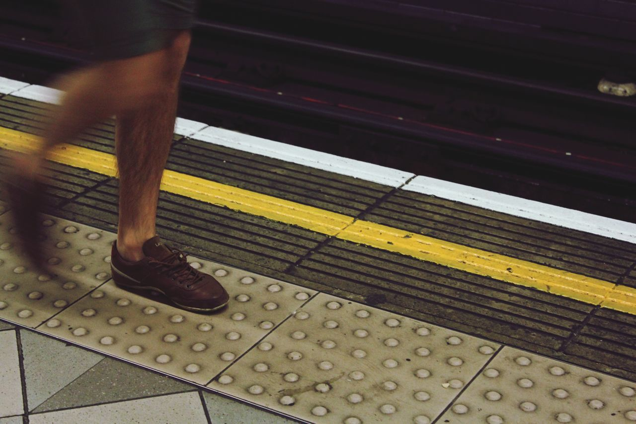 Need For Speed Life on the fast lane. Londonlife London Underground Tube Tube Station  Tracks Unrecognizable Person Legs Metro Metro Station Underground Movement Blur Eyeemphoto capturing motion London Lifestyle Break The Mold