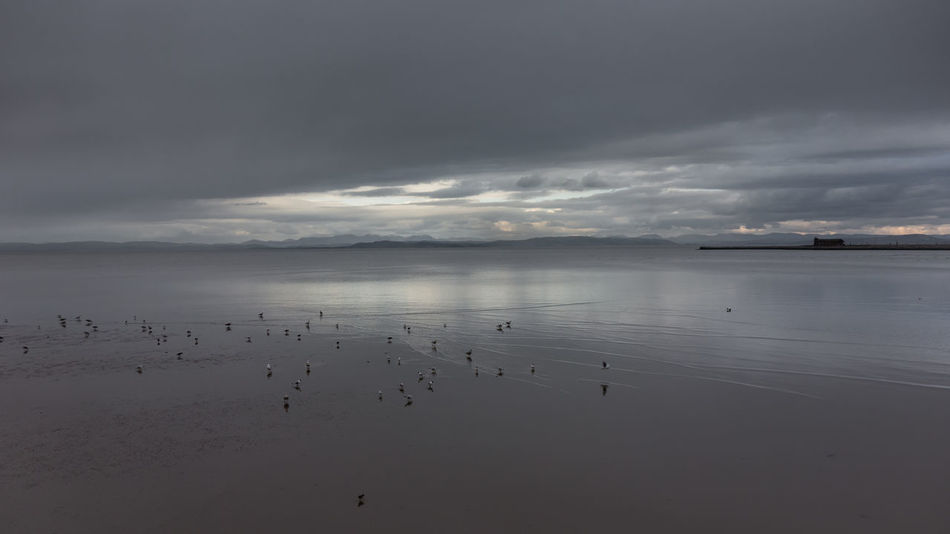 Morecambe Bay Beauty In Nature Cloud - Sky Day Dramatic Sky Horizon Over Water Landscape Nature No People Outdoors Reflection Scenics Sea Sky Storm Cloud Water
