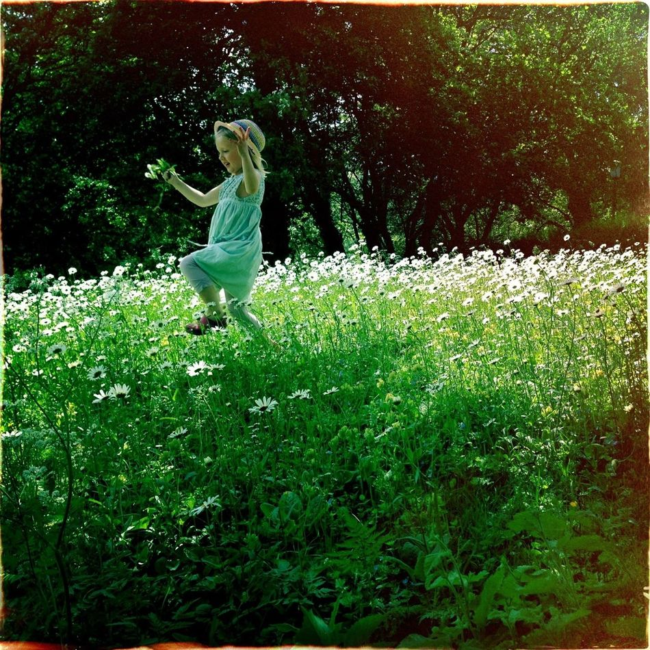 Best season of them all. Finally a chance to run through fields of flowers. We all should!