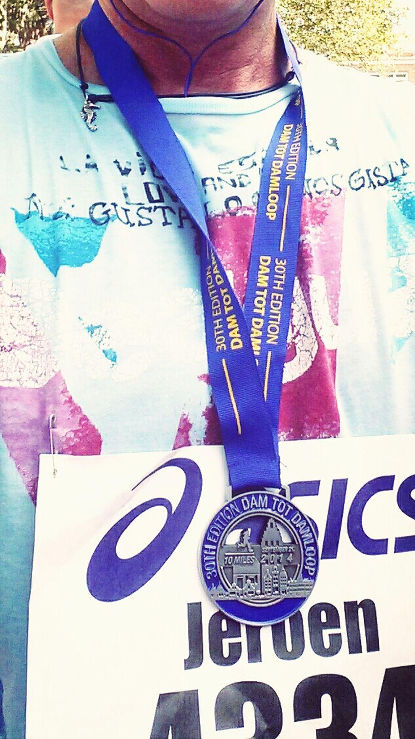 Another medal for the sock drawer! Jogging Excercising 16k