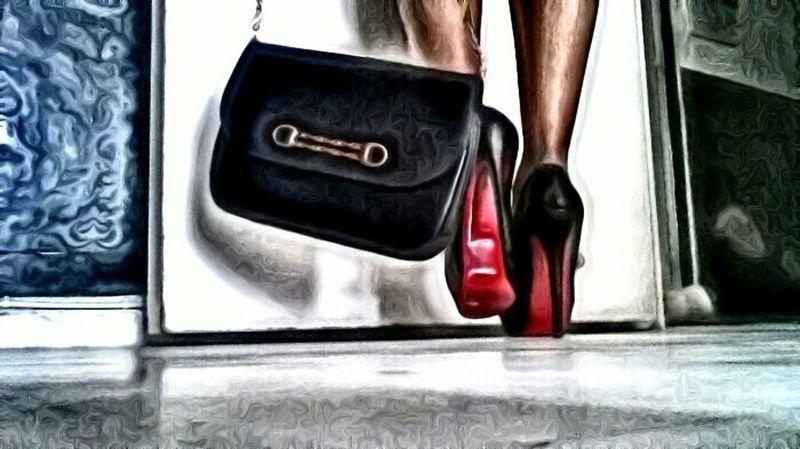 💋👠 Simplicity French High Heels Christian Louboutin Celineparis Celinebag Red Luxury