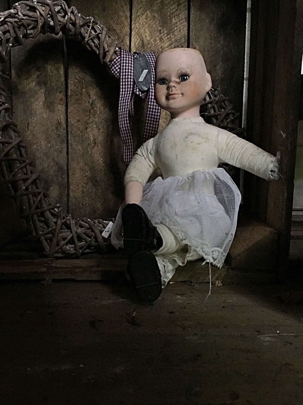 Tormented Doll Full Length One Person Childhood Indoors  People Young Adult Ballet Ballet Dancer Adult Day IPhoneography Doll Vintage