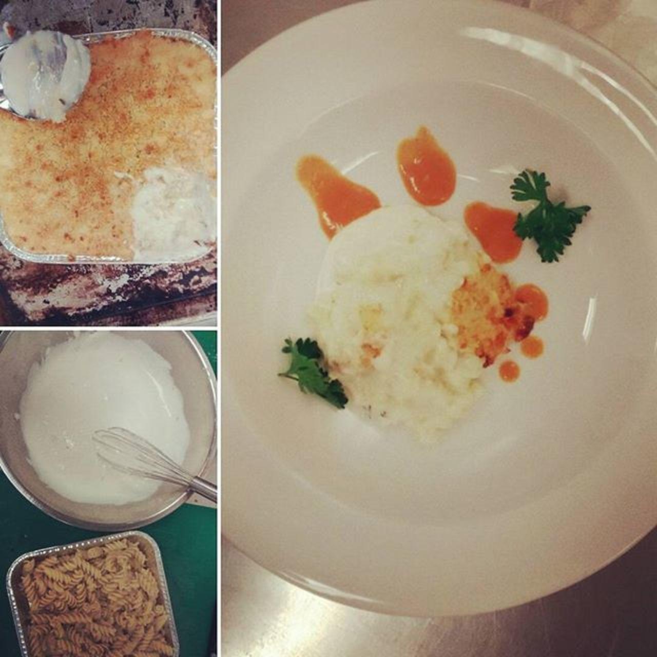 ~baked macaroni gangsta version~ Baking Plate Sauce Calinary Macroni