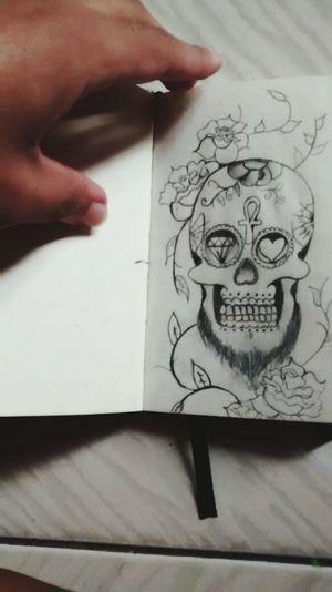 Sketchbook Caveiramexicana