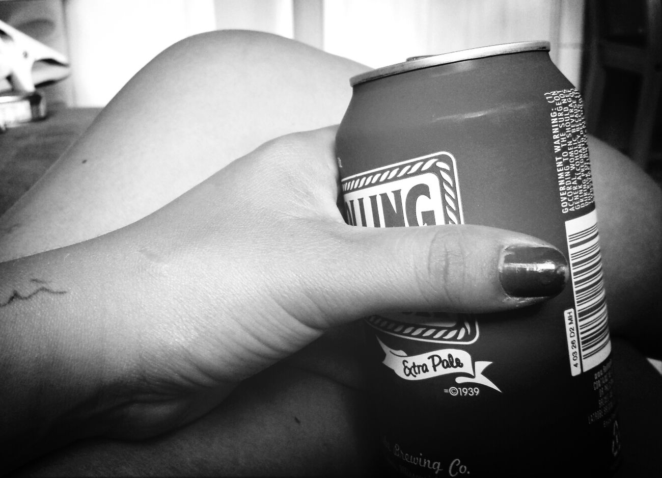 Being able to relax after a long day of work RePicture Femininity Rolling Rock Summer Research Black And White
