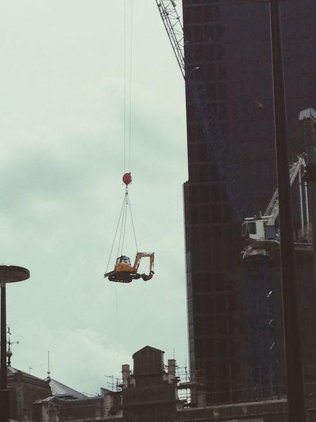 Construction Site London