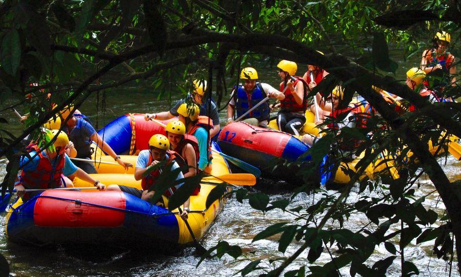Sport Adventure People Multi Colored Nature Water