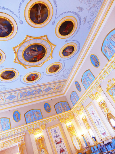 2014 Catherine Palace CatherinePalace Russia Saint Petersburg サンクトペテルブルク Room Cute Indoor エカテリーナ宮殿 ロシア
