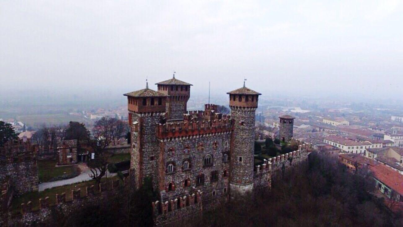 Age of empire! Drone  Dronephotography Dji Dji Phantom LakeGarda Gardasee Montichiari Castle Marcopan First Eyeem Photo