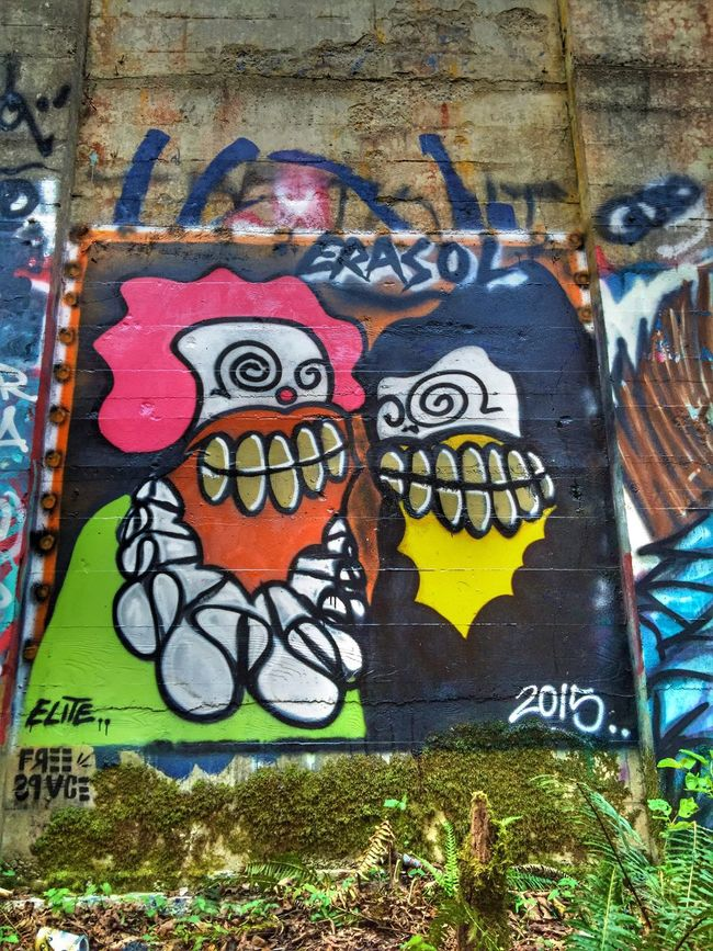 Graffiti Art Clowns Views Perspective Textures And Surfaces Abandoned Places Abandoned Buildings Old Abandoned Mill Exploring Neat Places Mural Art