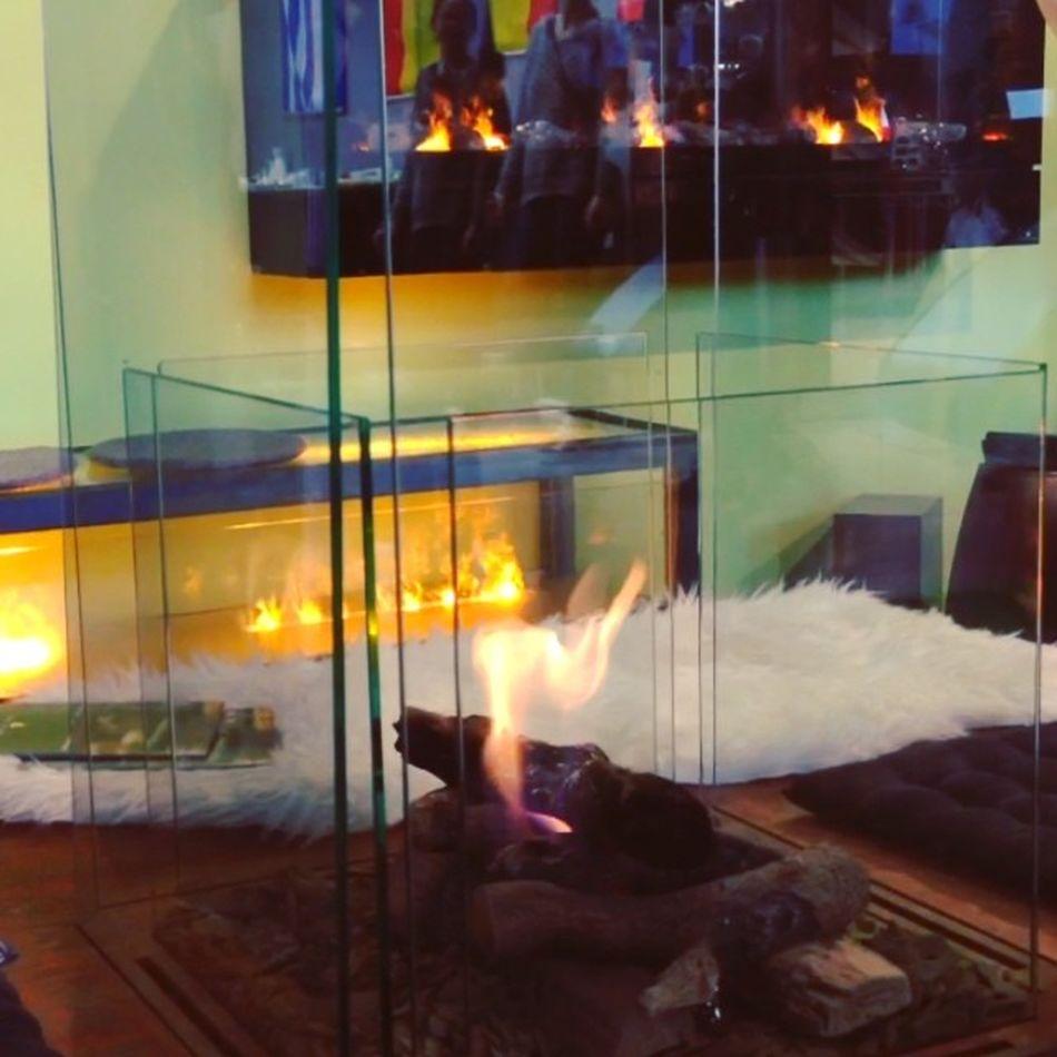 Feuer ohne Rauch. Hat was. #intergastra Gelatissimo Fire Fireplace Chimney Stuttgart Feuer Show Messe Kamin Messestuttgart Tradefair Intergastra