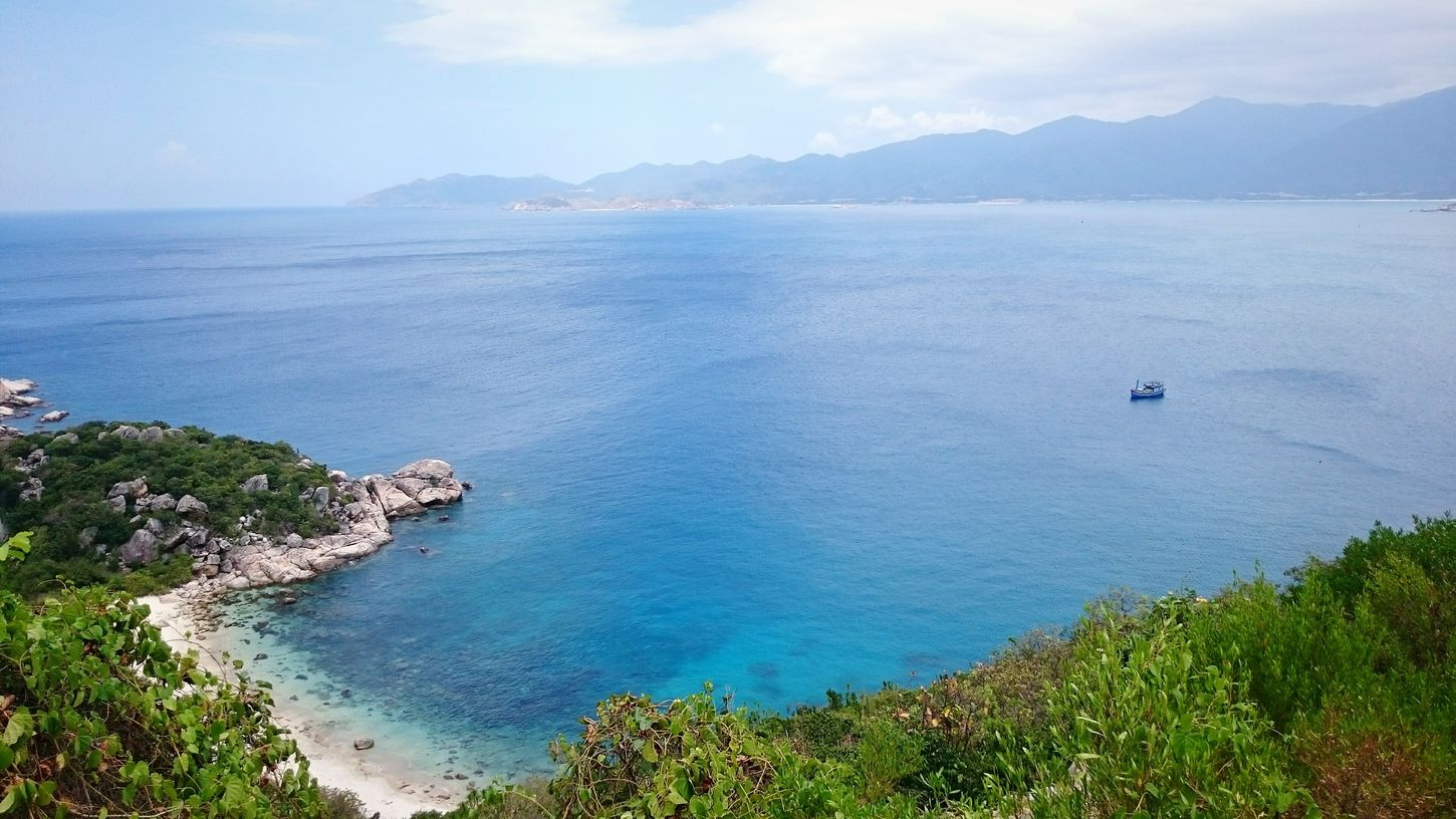 Beauty Of Vietnam Binh Ba Island Khanh Hoa Province Cam Ranh Bay To The Beach Landscapes Turtle Island Stunning View