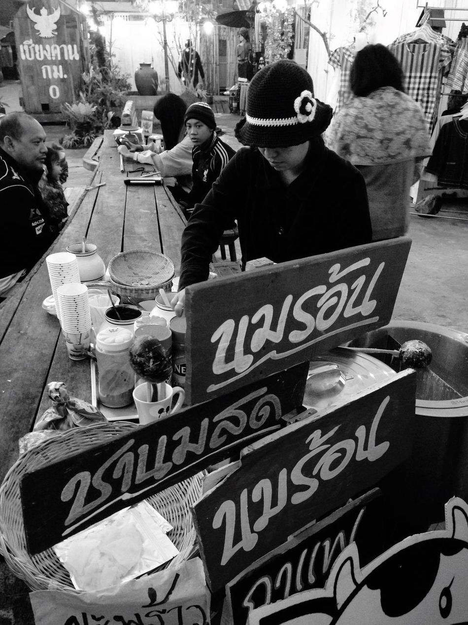 Street cafe' Chiangkhan Chiangkantrip Loei,thailand Loei Khongriverside ThaiCafe Cafe Coffee Coffeeinthemorning Streetphotography Street Photography Locallife Milk Coffee ☕ Hotmilk Streetcafe IPhoneography Black And White Collection  Blackandwhite Photography Barista Baristalife Hottea Tea Tea Time