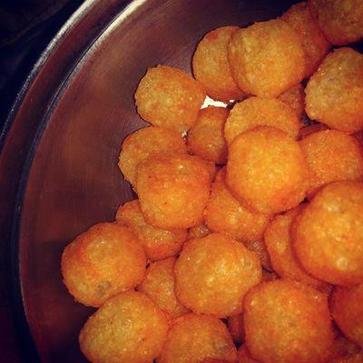 Cheeseballs for Breakfast ?
