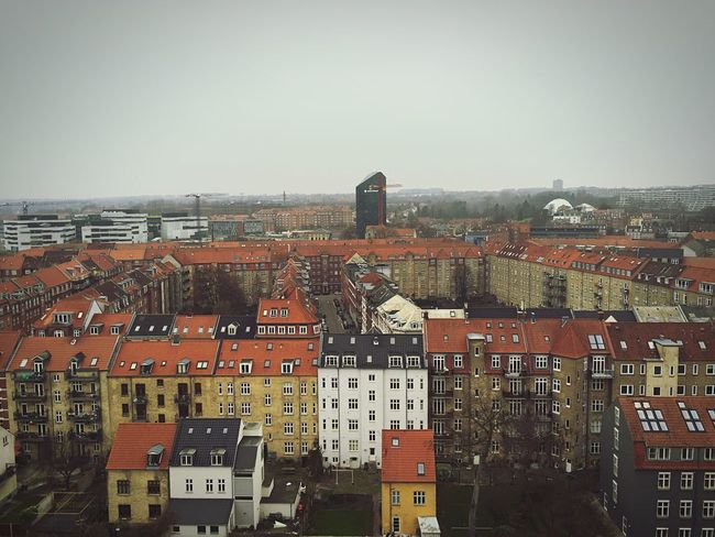 View from the top Enjoying The View Denmark Exploring Old Buildings