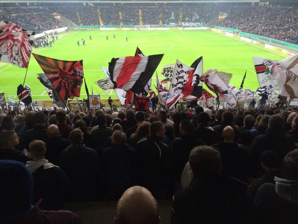 Eintracht Frankfurt  Waldstadion DFB Pokal