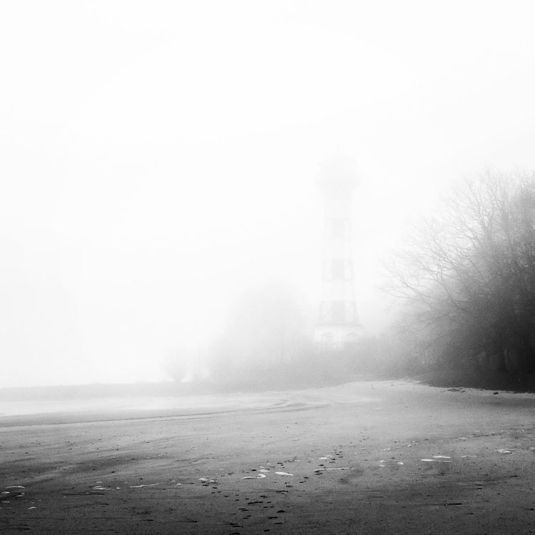Foggy Morning On The Beach FREE MIND Lighthouse
