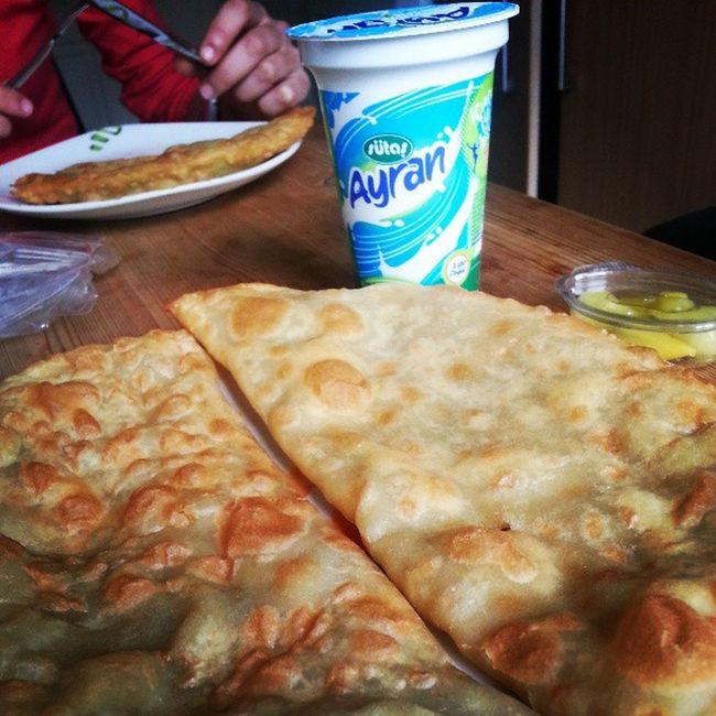 Cigborek Ayran Lunch Foodporn instafood instamood instahub instagram jj_forum jj igers igersturkey instagood