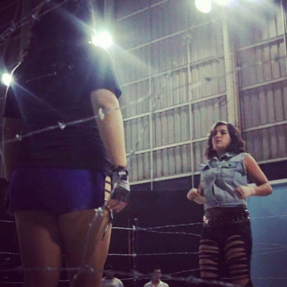Engel vs Domina Alambredepuas Xnl wrestling luchalibre