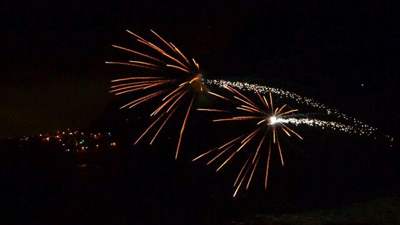 Fireworks Fuegos Fuegosartificiales Nigth  Nigthpicture Sanjuandelarambla Holidays Sea Water Lasaguas