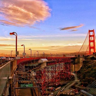 Hello world at Golden Gate Bridge by Charlie