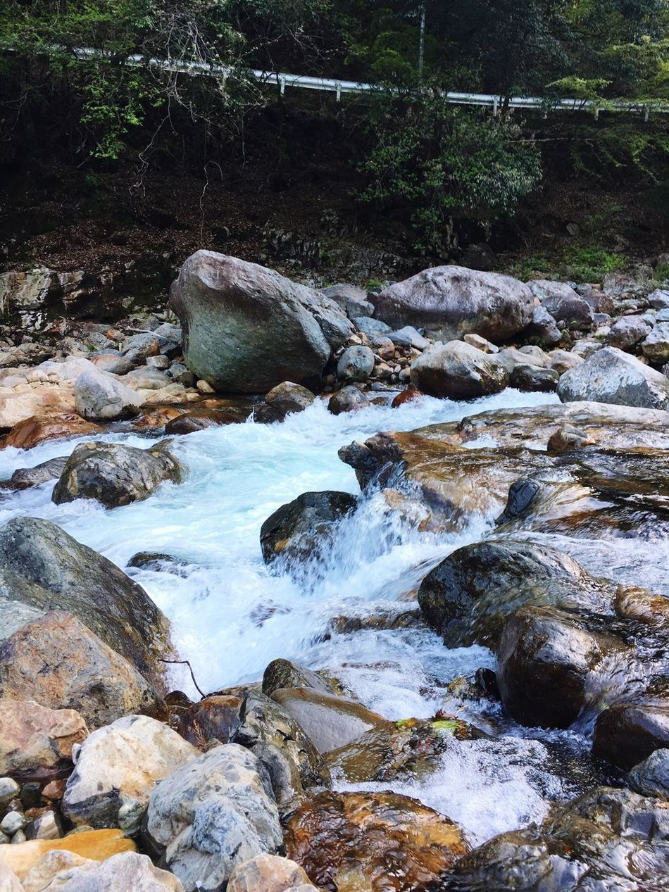 gokase river Rock - Object Nature No People Outdoors Landscape Water River Day Waterfall Beauty In Nature Forest Tree