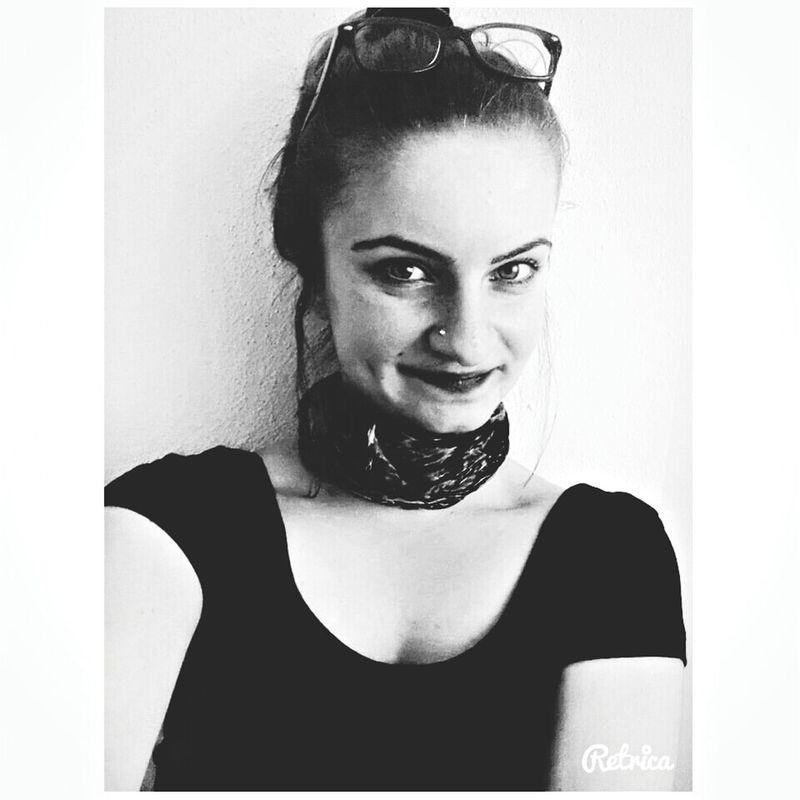 Black And White Glasses Hızma Smile