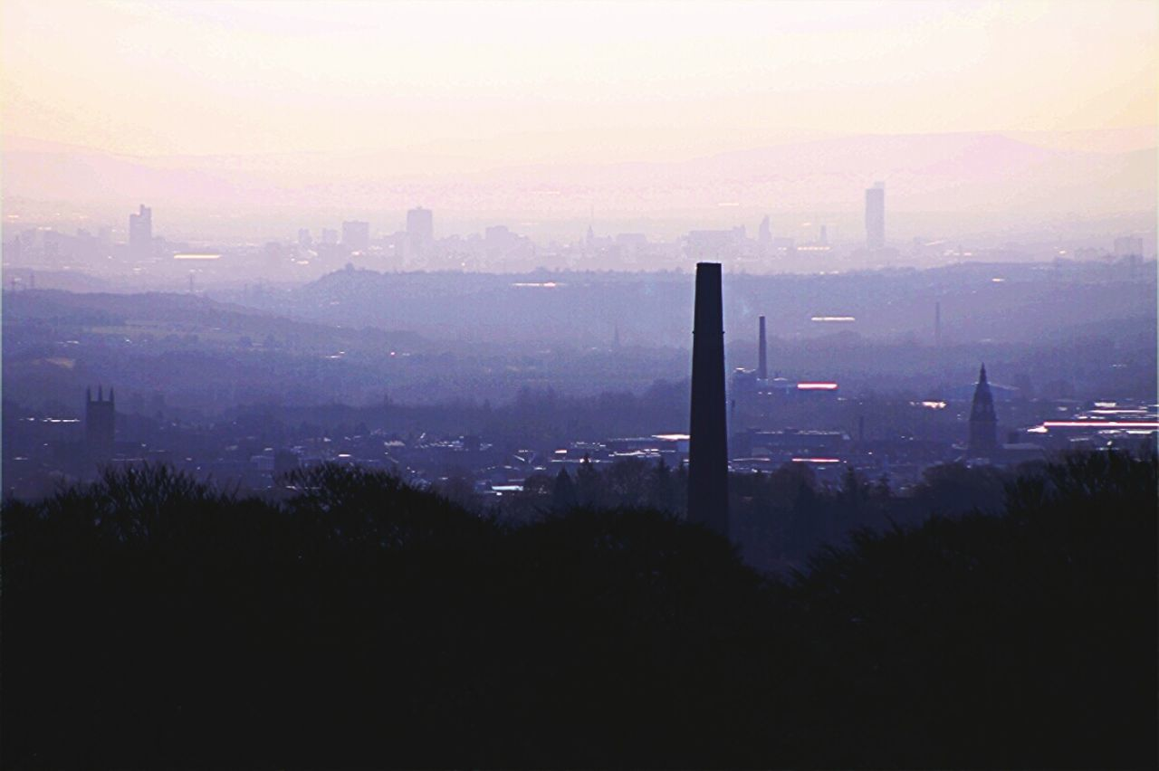 Looking down on Bolton town from Winter Hill. Industrial Landscapes Morning Light Layers And Colors